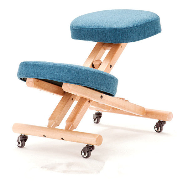 Blue Folding Portable Kneeling Chair