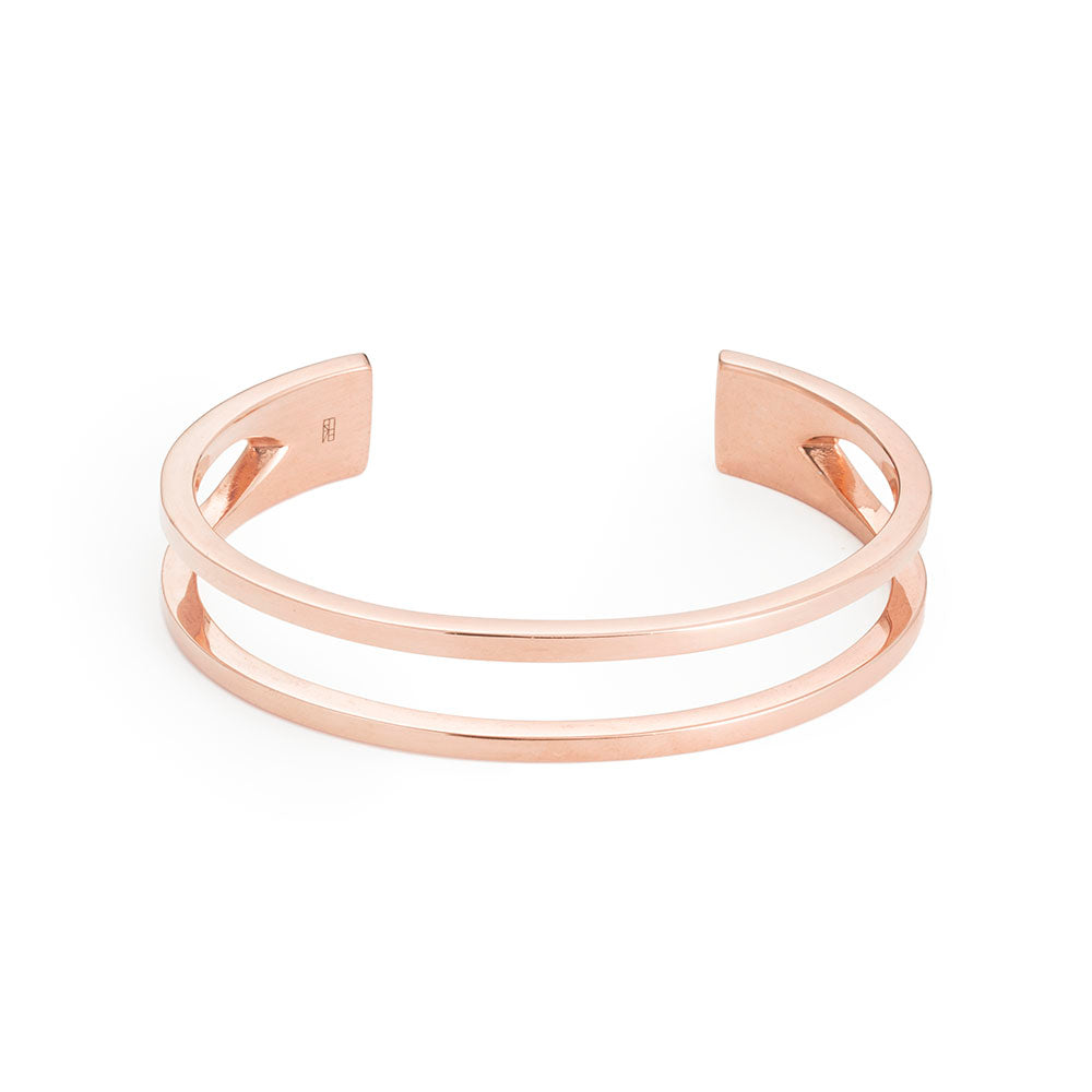 Tower Cuff - Rose Gold