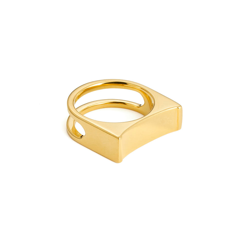 Cable Ring - Yellow Gold