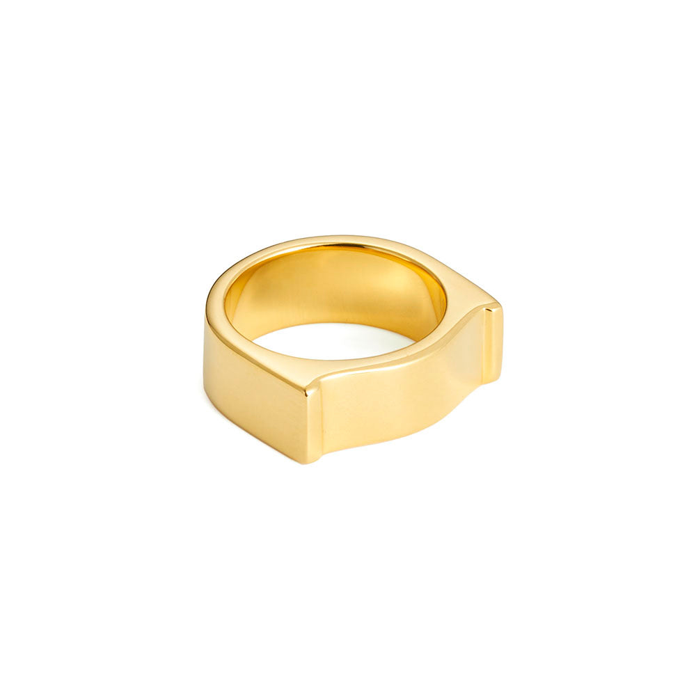 Arch Ring - Yellow Gold