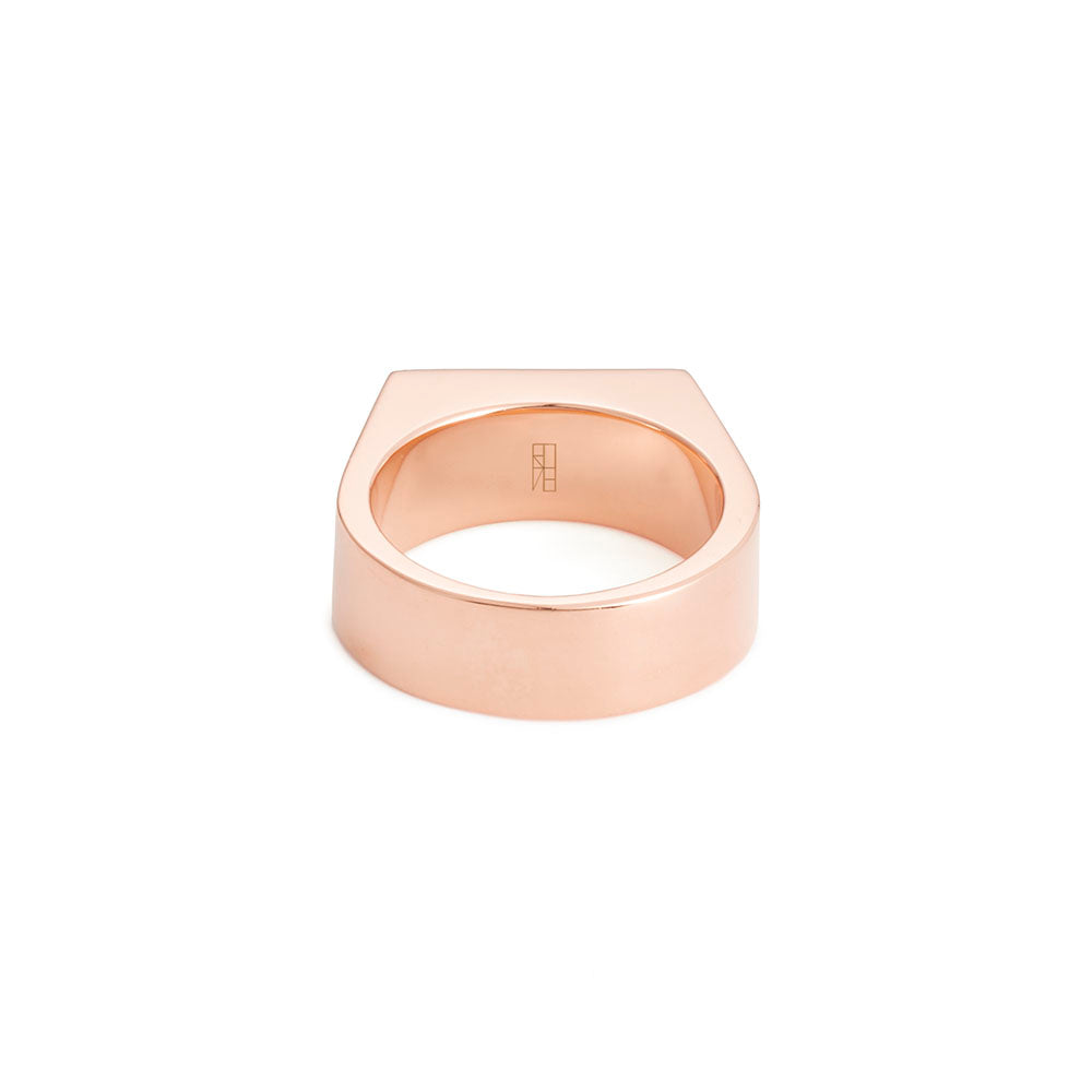 Tapered Deck Ring - Rose Gold