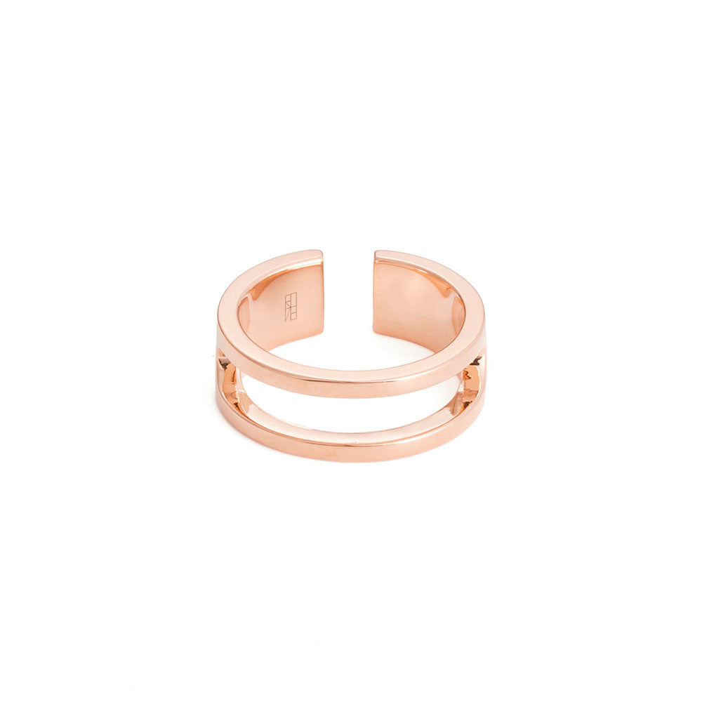 Tower Ring - Rose Gold