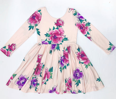 First Blush Floral Dress