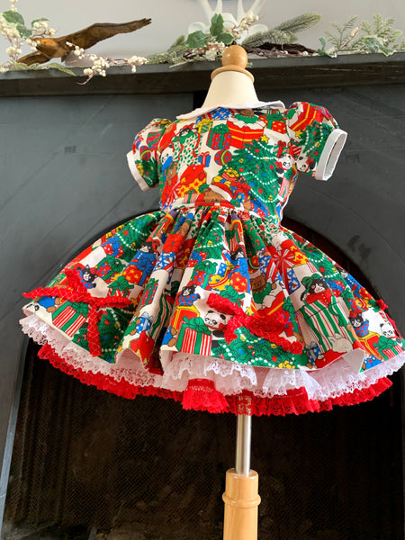 Vintage Christmas Dress for Wendy M