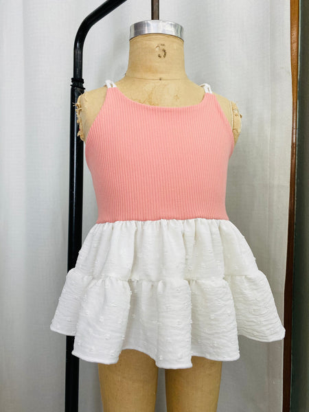 Peaches and Cream Swing Top
