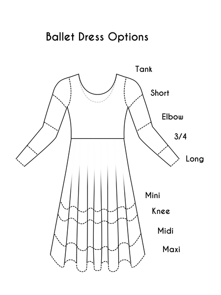 Choose Your Fabric Ballet Dress