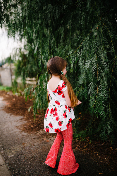 Red Roses Stella Tunic