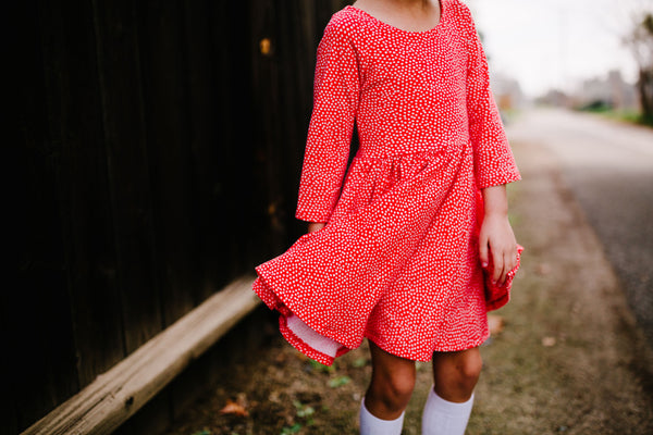 Red Dottie Dress