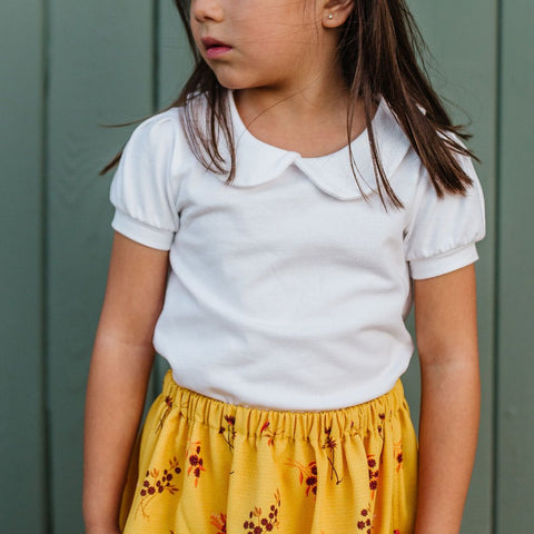 Collared Knit Blouse (Sizes 12-18 months through 5T)