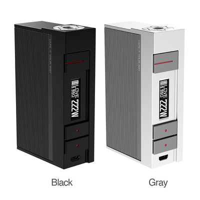 VOOPOO ALPHA ONE 222W TC BOX MOD - E-Juice Deals www.ejuicedeals.com