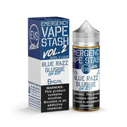Emergency Vape Stash Vol. 2 - Blue Razz Slushie On Ice - E-Juice Deals www.ejuicedeals.com