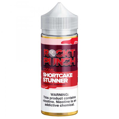 Strawberry Shortcake Stunner Rockt Punch 120ml - E-Juice Deals www.ejuicedeals.com