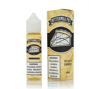 Primitive Vapor Co. - Buttermilk Pie - E-Juice Deals www.ejuicedeals.com