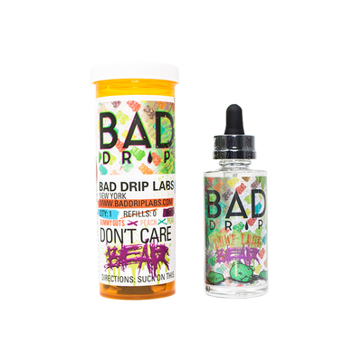 Don't Care Bear BadDrip 60ml - E-Juice Deals www.ejuicedeals.com