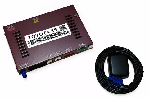 TOYOTA ADD-ON NAVIGATION FOR SELECT MODELS PART# TOYNAV3B