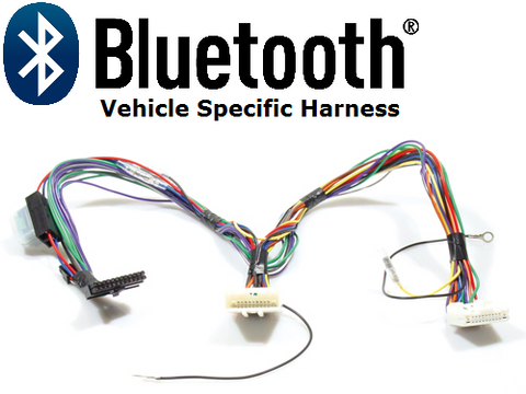 BLUETOOTH HARNESS NISSAN (NS2) NON-AMPLIFIED SYSTEM PT#AIS7515
