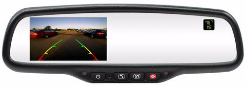 "4.3 "" HD LCD MIRROR W/ONSTAR RETENTION, COMP, & TEMP PART#GMMOS43ACT"