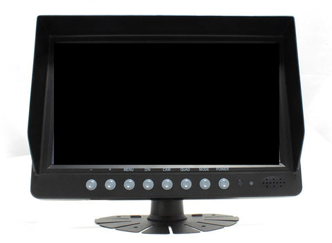 "PRO-SERIES 9"" COMMERCIAL MONITOR W/ QUAD INPUT IMAGE VIEWING PART# COM94QVPRO"