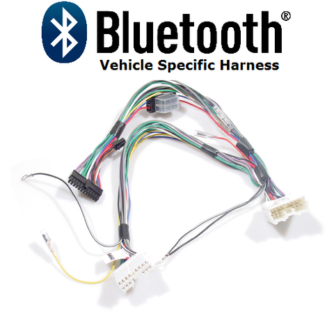 BLUETOOTH HARNESS MAZDA (MZ1) NON-AMPLIFIED SYSTEM PT#AIS75