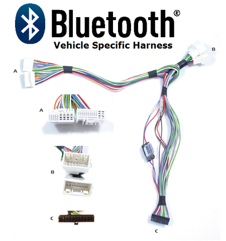 BLUETOOTH HARNESS HYUNDAI/KIA (HK5) NON-AMPLIFIED SYSTEM PT#AIS7560