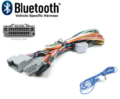 BLUETOOTH HARNESS CHRYSLER/DODGE/JEEP (CHR4-V) NON-AMPLIFIED SYSTEM PT#AIS7540
