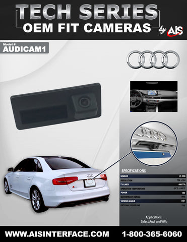 CAMERA REAR PART#AUDICAM1