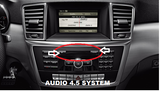 FRONT & REAR CAMERA INTERFACE FOR THE 4.5 AUDIO SYSTEM PART#MBZMOD1