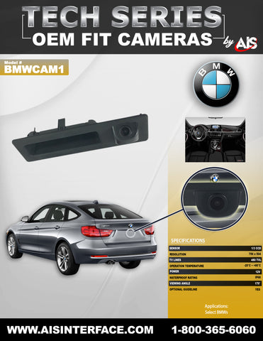 CAMERA REAR PART#BMWCAM1