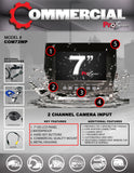 WATERPROOF MONITOR PART#COM72WP
