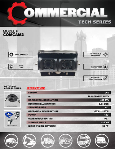 HD CCD CAMERA PART#COMCAM2