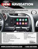 CORVETTE FACTORY CARPLAY/ANDROID AUTO W/NAV PART#CORNCP1