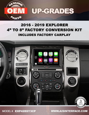 "EXPEDITION 4"" TO 8"" SYNC3 WITH CARPLAY/ANDROID AUTO PART#EXP428SY3CP"