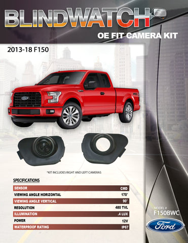 CAMERA KIT PART#F150BWC