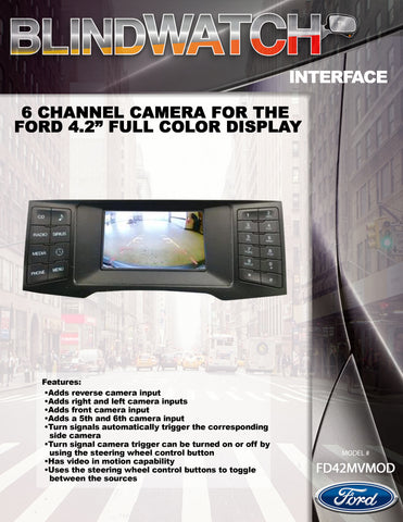 CAMERA INTERFACE PART#FD42MVMOD