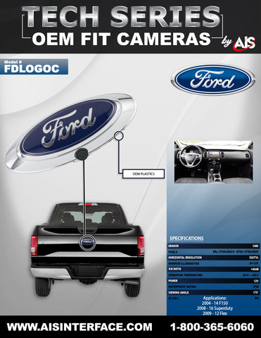 CAMERA REAR PART#FDLOGOC