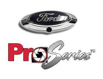 PRO-SERIES SANYO HD CAMERA FOR SELECT FORD EMBLEM F150/250/350 PART# FDLOGOPRO