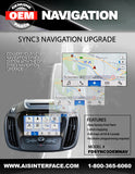 FORD NAVIGATION PART#FDSYNC3OEMNAV