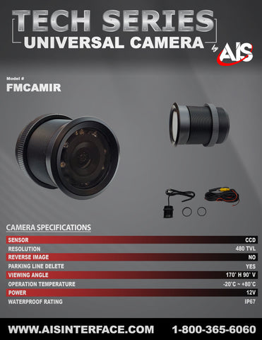 TECH SERIES CAMERA PART#FMCAMIR
