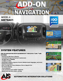NAVIGATION PART#GM7NAV1