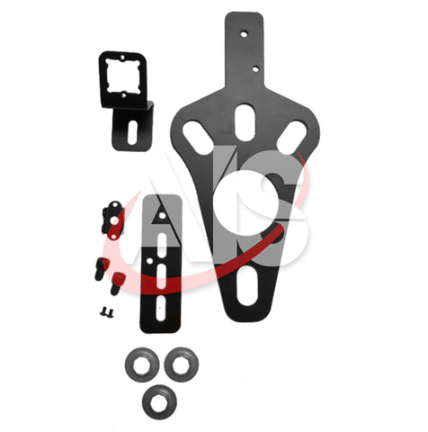ADJUSTABLE SPARE TIRE BRACKET PART# JPBRACKET2