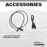 LVDS ADAPTER CABLES FOR CV8MVMOD/GM8MVMOD PART#LVDSRSE