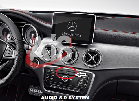 FRONT & REAR CAMERA INTERFACE FOR THE 5.0 AUDIO SYSTEM PART#MBZMOD2