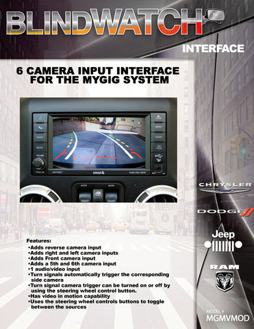 CAMERA INTERFACE PART#MGMVMOD