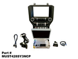 "MUSTANG 4"" TO 8"" SYNC3 UPGRADE WITH CARPLAY/ANDROID AUTO/NAV PART#MUST428SY3NCP"
