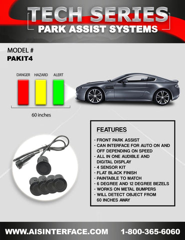 PARK ASSIST FRONT SYSTEM PART#PAKIT4