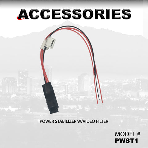 POWER STABILIZER W/VIDEO FILTER PART#PWST1