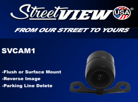 UNIVERSAL FLUSH / SURFACE MOUNT CAMERA PART#SVCAM1