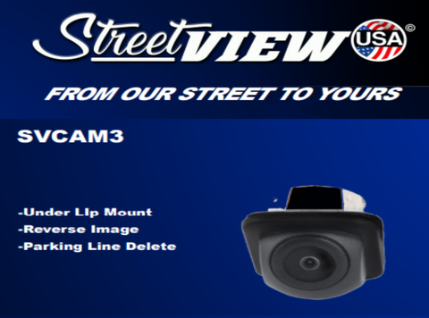 UNIVERSAL UNDER LIP SNAP IN CAMERA PART#SVCAM3