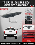 OE FIT HANDLE CAMERA FOR SELECT TACOMA PT# TACTGC
