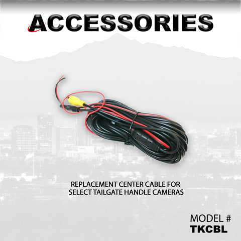 REPLACEMENT CENTER CABLE FOR SELECT TAILGATE HANDLE CAMERAS PART#TKCBL